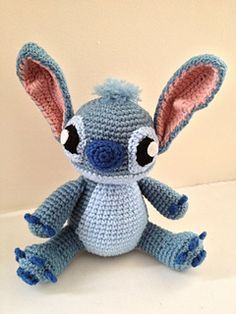 Stitch Amigurumi - free pattern from Ravelry