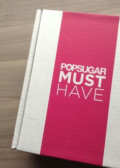 Pop Sugar Must Have - Subscription Box Review - April 2013