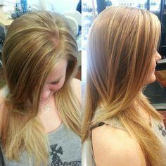 Highlights #redken #blondeicing
