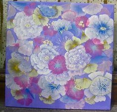 acrylique sur toile 40/40 by marie gremmelprez