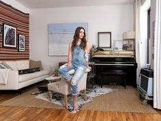 Sara Bareilles, the Grammy and Tony-nominated singer-songwriter, lives in a two-bedroom rental in Lower Manhattan.