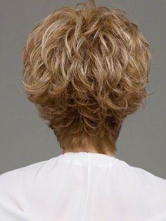 Envy Micki Wig : Back View | Color Dark-Blonde