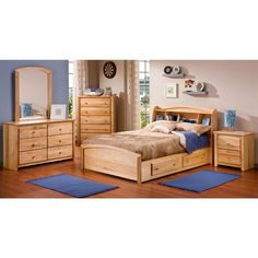 """""""Cache"""" Bookcase Bed Ensemble With Storage for $539.99"""