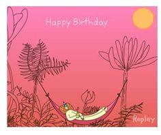Ecard Birthday Card