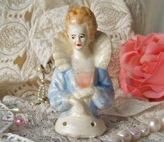 Vintage Half Doll Pincushion Doll Boudoir Doll by CynthiasAttic