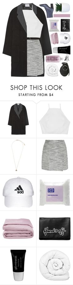 """""""done dealing with you."""" by samiikins ❤ liked on Polyvore featuring Alexander Wang, rag & bone, Topshop, J.Crew, Frette, Monki, Glo, Brinkhaus, philosophy and queens"""