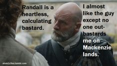 Best cast choice in the whole STARZ Outlander: Dougal.