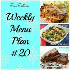 #weeklymenuplan19 #sixsistersstuff