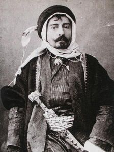 Pierre Loti in Arabic Costume (photo) Pierre Loti, Body Adornment, Charles Darwin, French Photographers, France, Black And White Portraits, Belle Epoque, Vintage Pictures, Vintage Photographs