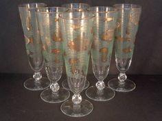 Barware Collection - LIBBEY - MARINE LIFE - PILSNER GLASSES