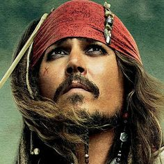 Johnny Depp. Just because I love that face........