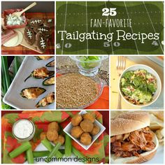 25 Fan-Favorite Tailgate Food Recipes  #tailgate #snacks #partyfood