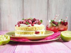Die Teigfabrik - der Back- & Foodblog aus Günzburg : Ein Cocktail zum Anbeißen Himbeer Mojito Törtchen Cocktails, Mojito, Cake Recipes, Cheesecake, Cookies, Desserts, Wordpress, Happy Birthday, Food