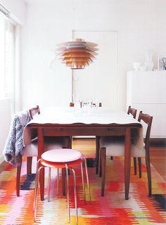 amazing loom rug- sfgirlbybay / bohemian modern style from a san francisco girl