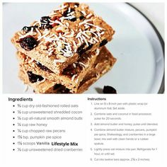 Want to make this #healthy #delicious treat? Click 'Visit' to order some all natural, non-GMO Vanilla Lifestyle Mix.