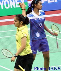 Vodafone Indian Badminton League 2013 final will be the clash of Indian titans Saina Nehwal and young sensation P. Sindhu as Awadhe Warriors will take on Hyderabad Hotshots in the final on Saturday at Mumbai. Badminton League, The Clash, Hyderabad, Tennis Racket, Sports Women, Mumbai, Finals, Warriors, Basketball Court