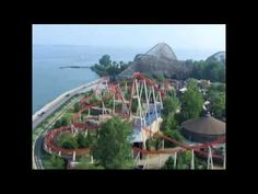 Cedar Point.  Who would have thunk that the best amusement park in the world would be nestled in lil'ole Sandusky, Ohio?