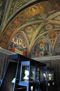 Borgia apartments built by Pope Alexander VI, vatican