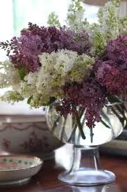 Lilacs in a bowl