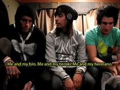 my gif pierce the veil vic fuentes mike fuentes