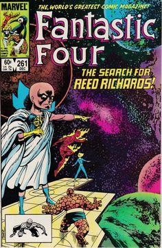 Fantastic Four #261 - December 1983 Issue - Marvel Comics - Grade VF/NM
