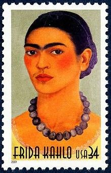 Frida Kahlo stamp issued by the U.S Postal Service, 2001 | AnOther Loves