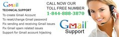 Get Gmail customer helpline Number @1-844-888-3870 makes it is easy and convenient for users to resolve their Gmail issues. They are very prompt in providing solutions to users and seldom keep them waiting.