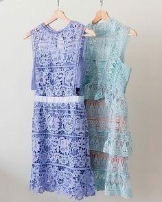 'Jillian' Mint Green Lace Bottle Neck Shift Dress - Goodnight Macaroon