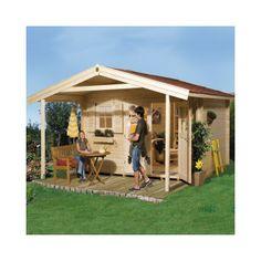Abri de jardin bois Type 111 28 mm + Plancher - Achat/Vente Abris de jardin en bois - Weka / JardineriePasero.com