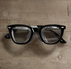 Retro Safety Glasses