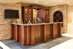 Basement Bar kitchen designed by @scullymeboy; AyA Designer in Ajax