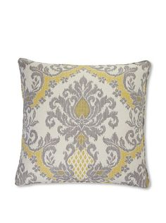 gray and yellow pillow-living room