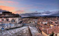 Porta Sole, Perugia, Italy Perugia Italy, Umbria Italy, Tuscany, Bella, Destinations, Mansions, House Styles, City, Italia