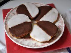 Pumpkin Black and White Cookies   Serious Eats