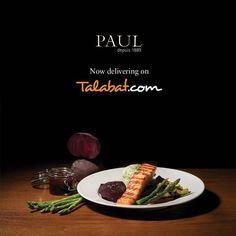 Paul is now on Talabat.com! #UAE #Dubai #DubaiBestEats  Talabat.com بول متوفر الأن على by paularabia