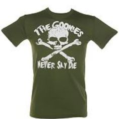 -I've always hated skulls, but for the Goonies I love this :P Cheap Online Shopping, Skulls, My Style, Stylish, Mens Tops, T Shirt, Closet, Design, Fashion