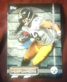 Troy Polamalu/Rod Woodson 2015 Topps Past & Present Performers Pitts. Steelers in Sports Mem, Cards & Fan Shop, Cards, Football | eBay