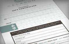 #branding #gift #certificate