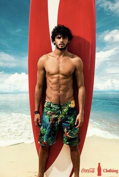 For his latest advertising campaign, Brazilian model Marlon Teixeira stars in the spring/summer 2013/14 outing of local label Coca Cola, featuring photography by Pedrita Junckes and styling by Fabio Ishimoto.