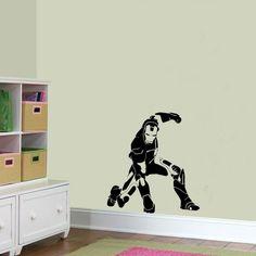 Iron Man The Avengers Wall Sticker Scene Vinyl Art Decal Graphic Transfer kids Bedroom. £14.99, via Etsy.