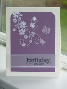 Use a vellum strip for the sentiment.