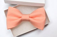 Men / Boys / Toddler / Infant Peach Color Clip On by amy2004marie