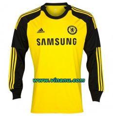 2013-2014 Chelsea Goalkeeper Long Sleeve Soccer Jersey