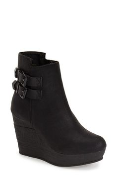 Sbicca 'Woodway' Wedge Bootie (Women) available at #Nordstrom