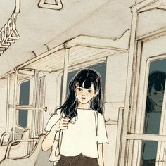 Image in Wallpaper collection by Chanson on We Heart It Aesthetic Images, Aesthetic Anime, Aesthetic Art, Anime Toon, Manga Anime, Character Illustration, Illustration Art, Cute Couple Art, Digital Art Girl