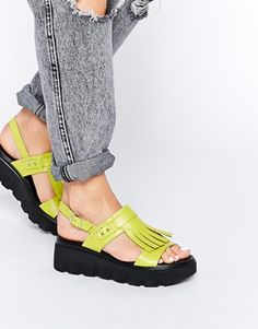 Pining for warmer climates so I can wear these bad ass stacked sandals.
