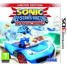 Sonic & All-Stars Racing Transformed Limited Edition Game 3DS