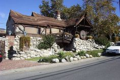 Сказочные домики, в которых живут обыкновенные люди