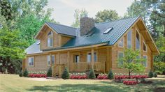 Log Home Design Plan and Kits for New Castle