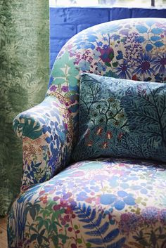 Our new season furnishing fabrics have arrived! Find the Nesfield collection in-store or online at Liberty.co.uk